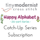 Happy Alphabet by Tiny Modernist - Catch Up Series Subscription