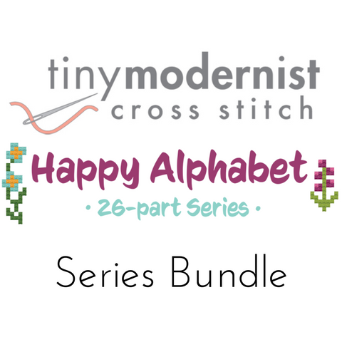 Happy Alphabet by Tiny Modernist - Series Bundle