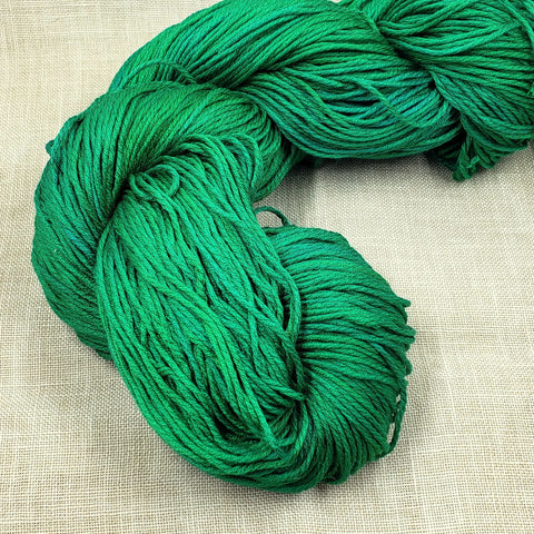 Codename Holly Jolly Green - Gloriana Classic Silk - Sold in 2 yard lengths