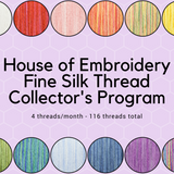 House of Embroidery Fine Silk Collector's Club