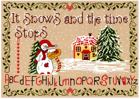 It Snows and Time Stops chart - Annick Abrial
