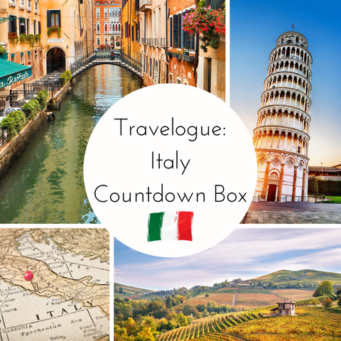 Travelogue: Italy 2021 Small Batch Countdown Box - Deposit