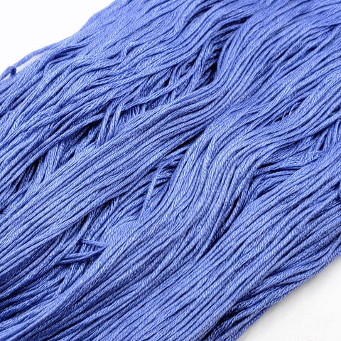 Lapis - 8 yard skein - StitchySilk French Spun Silk - Limited Edition