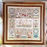 Letters from Mom Center Chart- Jeannette Douglas Designs cross stitch chart