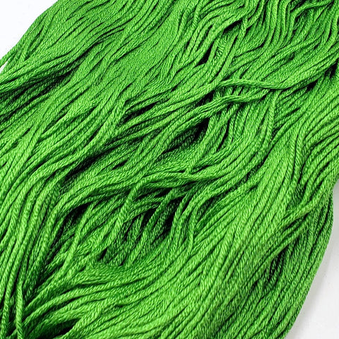Luck - 8 yard skein - StitchySilk French Spun Silk - Limited Edition