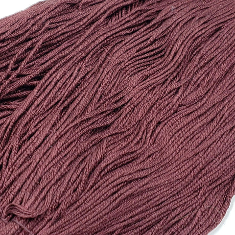 Merlot - 8 yard skein - StitchySilk French Spun Silk - Limited Edition