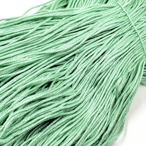 Mint - 8 yard skein - StitchySilk French Spun Silk - Limited Edition