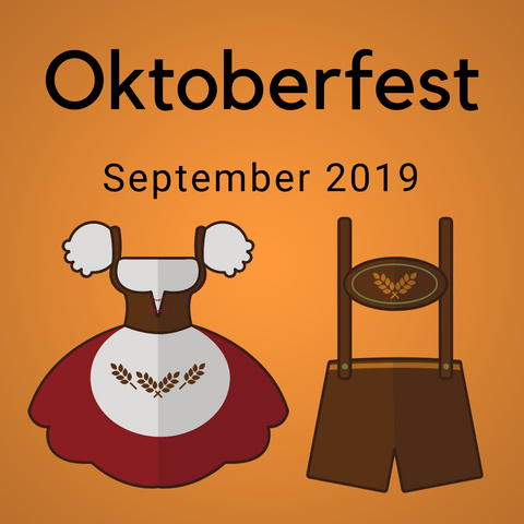 Oktoberfest Color Countdown Shipment - September 2019