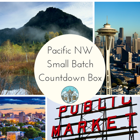 Travelogue: Pacific Northwest Small Batch Countdown Box - Deposit