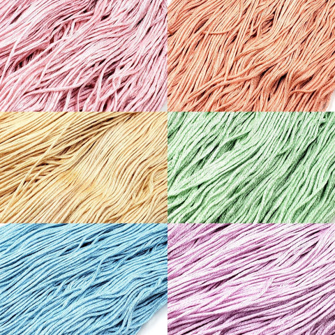 Pastel Rainbow - StitchySilk Color Palette Set