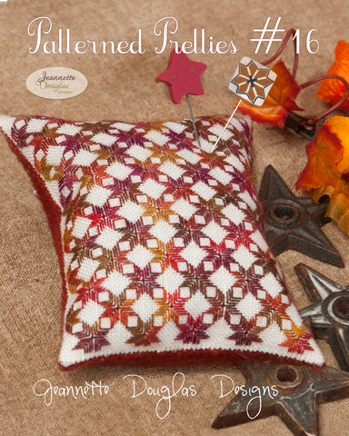 Patterned Pretties #16 - Jeannette Douglas Designs
