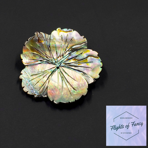 Paua Flower - Flights of Fancy Needleminder