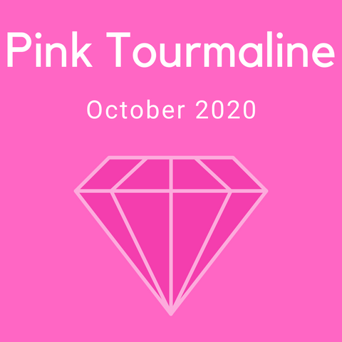 Pink Tourmaline Color Countdown Shipment - October 2020