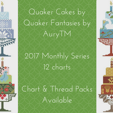Quaker Cakes Chart Series Subscription Registration