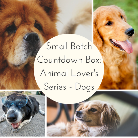 Animal Lovers Series: Dogs Small Batch Countdown Box - Deposit