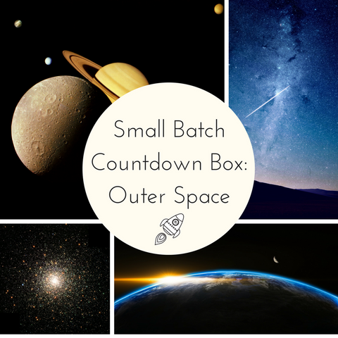 Outer Space Small Batch Countdown Box - Deposit