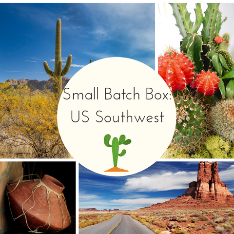 Travelogue: US Southwest Small Batch Countdown Box - Deposit