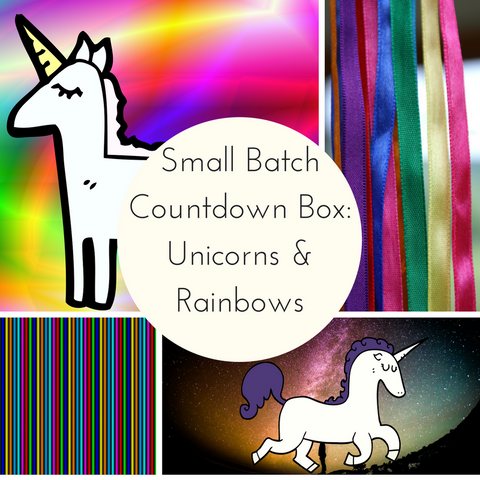 Unicorns & Rainbows Small Batch Countdown Box - Deposit