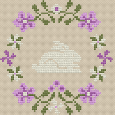 Spring Bunny - Lindsay Lane Designs (Stitch It Up)