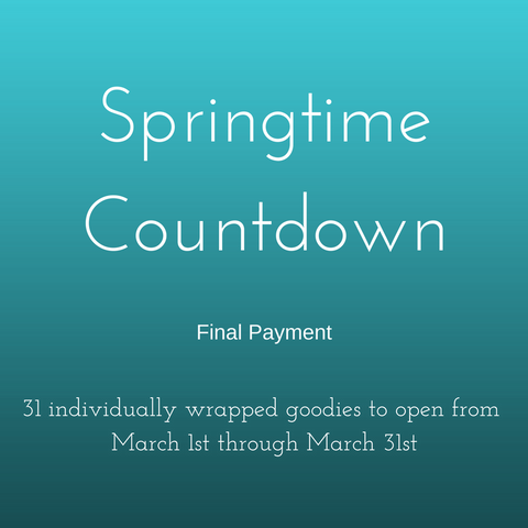 Springtime Countdown 2018 Box