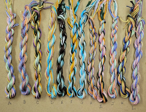 Silk Stash Skeins - April 2021