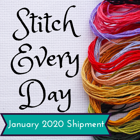 Stitch Every Day January 2020 Shipment