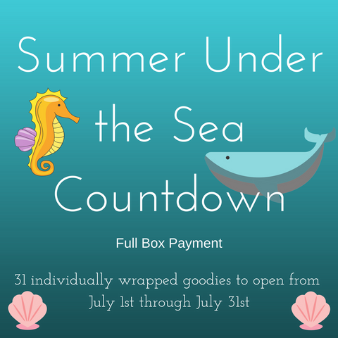Summer Under the Sea Countdown 2018 Box