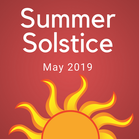 Summer Solstice Color Countdown Shipment - May 2019