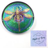 Green Vitrail Dragonfly - Flights of Fancy Needleminder