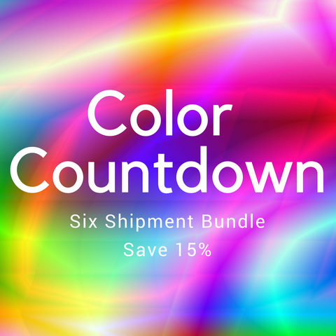 Color Countdown 6 Shipment Bundle