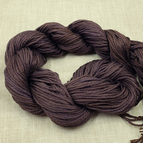 Codename Deep Coffee Brown - Gloriana Classic Silk - Sold in 2 yard lengths
