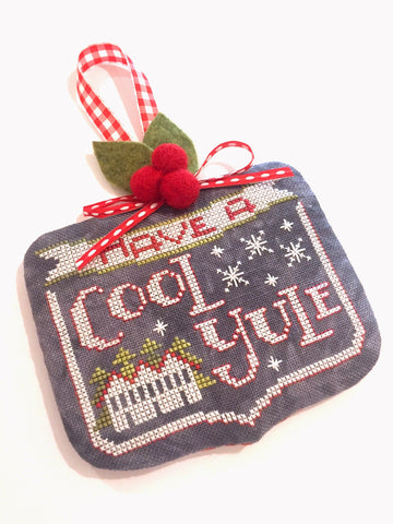 Cool Yule Cross Stitch Kit - StitchyBox Presents Hands On Design #3