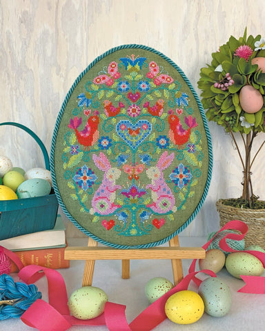 Egg Hunt - Satsuma Street Cross Stitch Chart