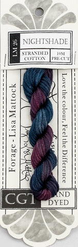 Nightshade - NEW Cottage Garden Threads Forage Collection