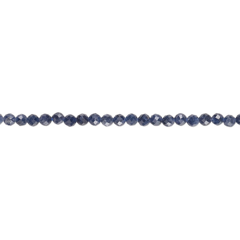 Natural Sapphire 2mm Handcut Faceted Rounds
