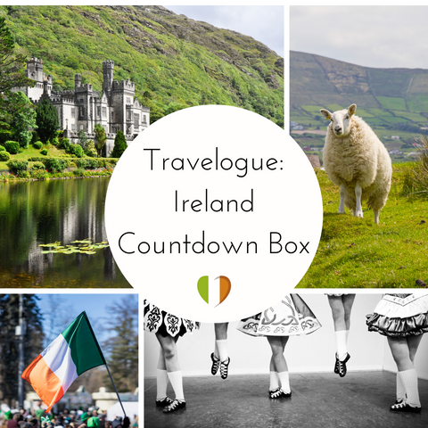 Travelogue: Ireland Small Batch Countdown Box - Deposit