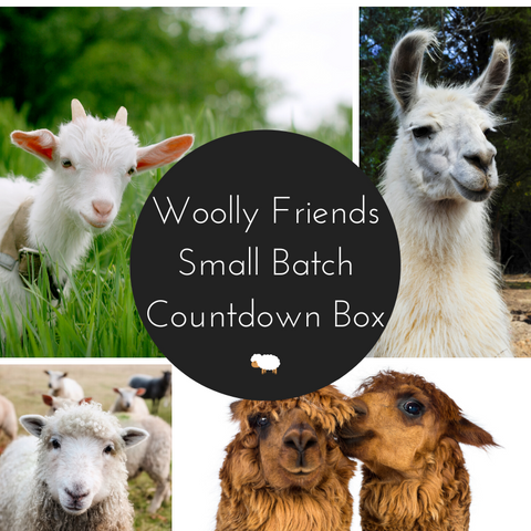 Woolly Friends Small Batch Countdown Box - Deposit