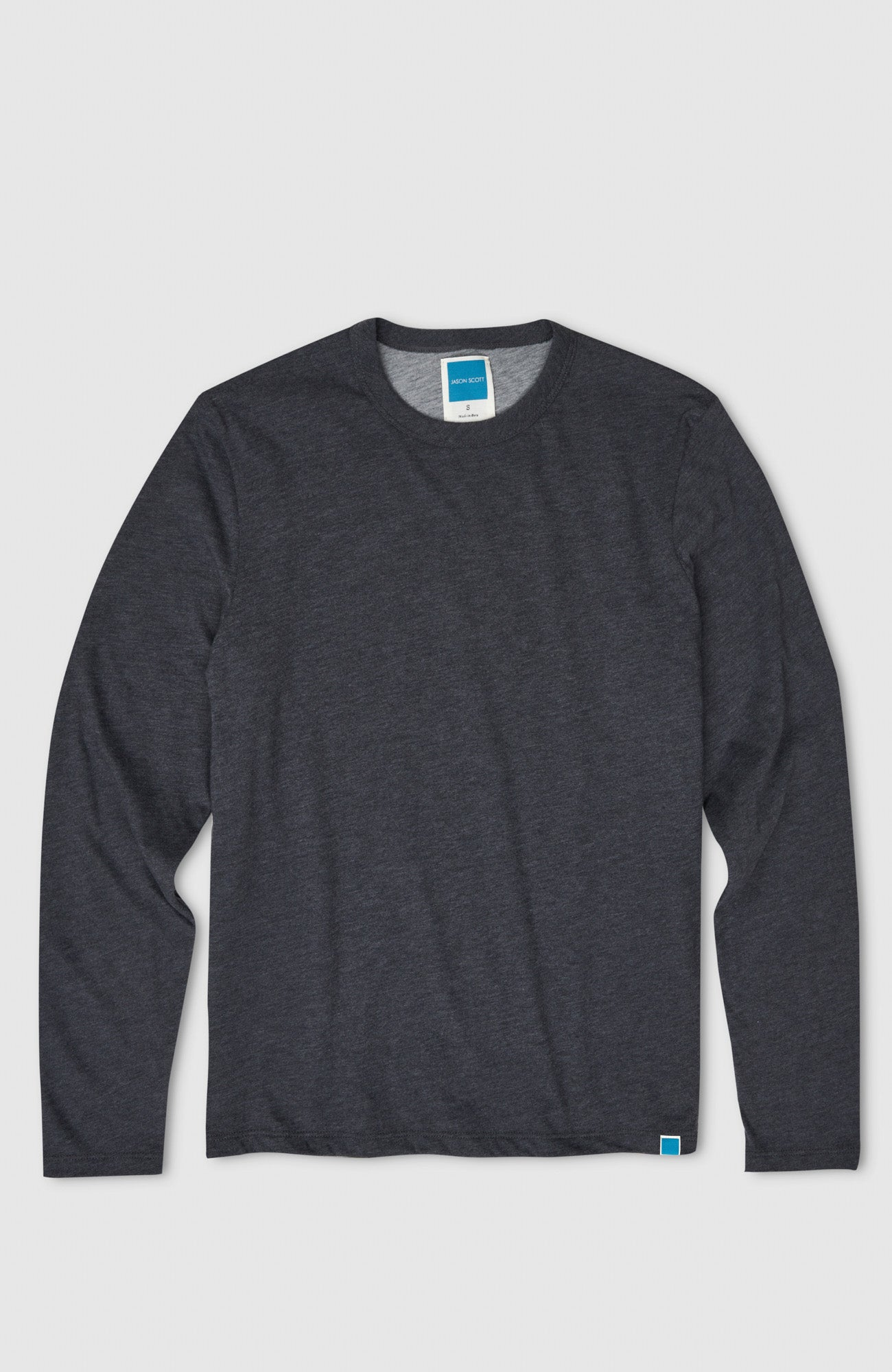 Double Layer L/S - Heather Charcoal