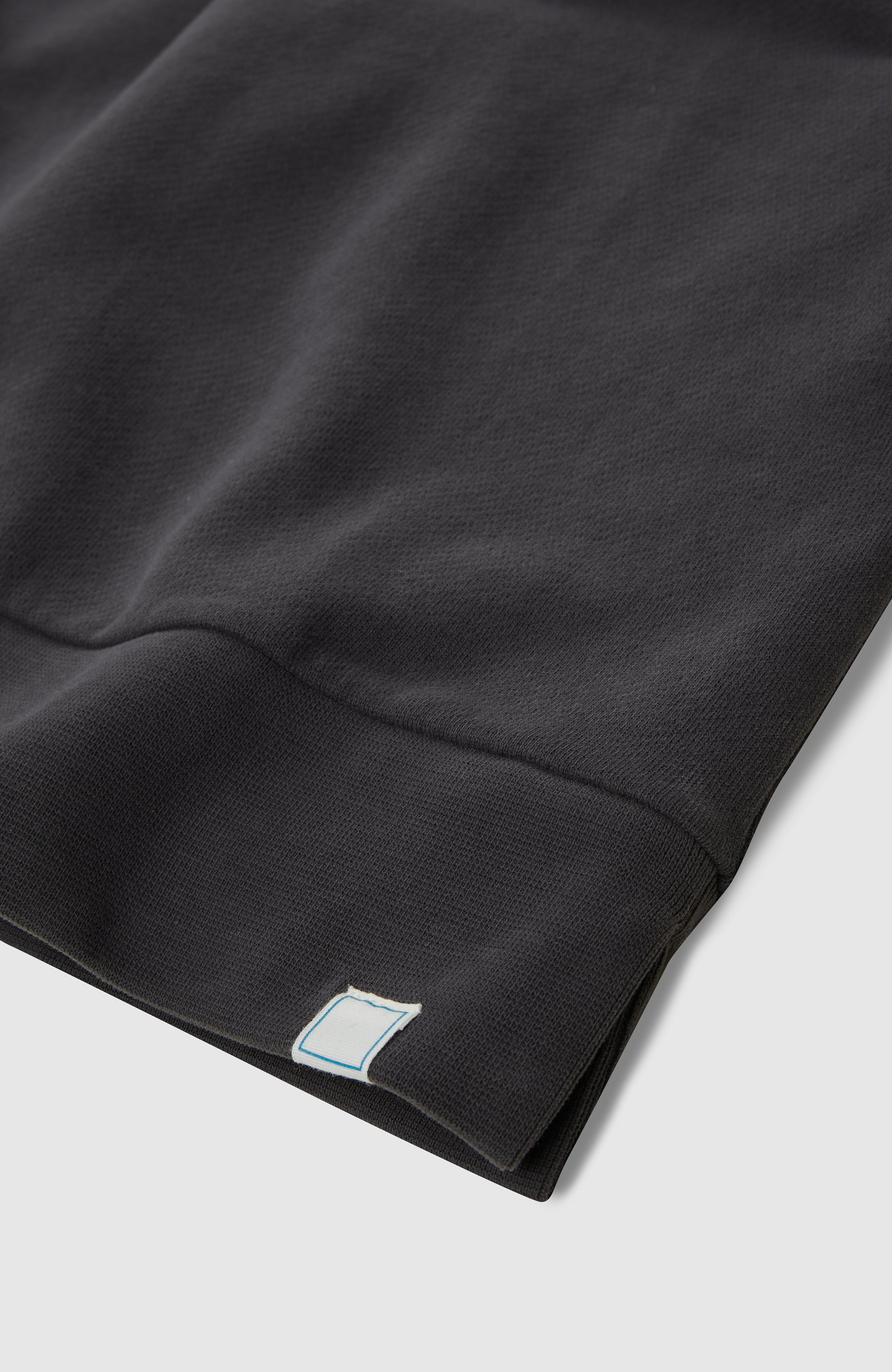 Drop Shoulder Crew - Charcoal