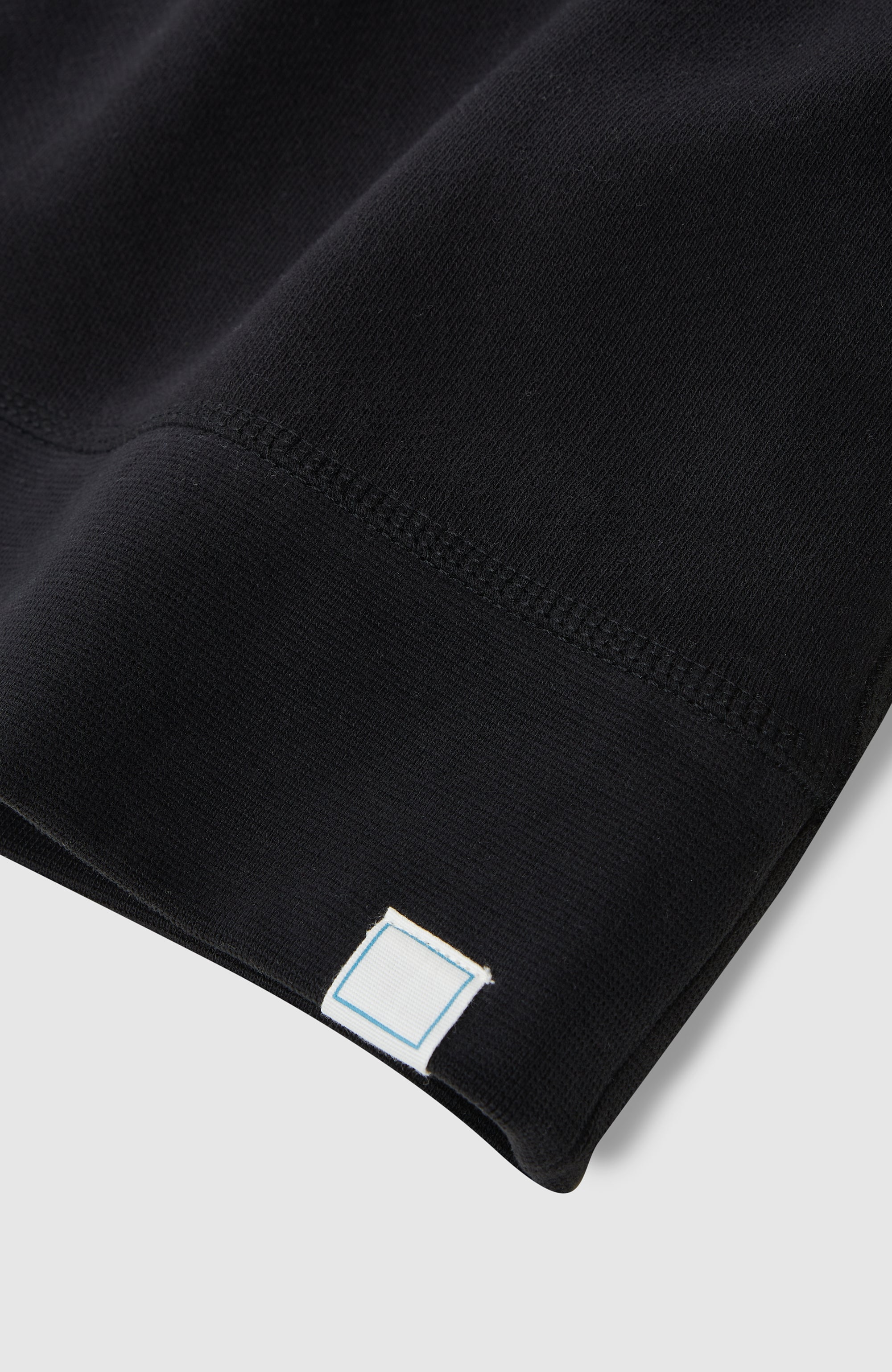 Drop Shoulder Hoodie - Black