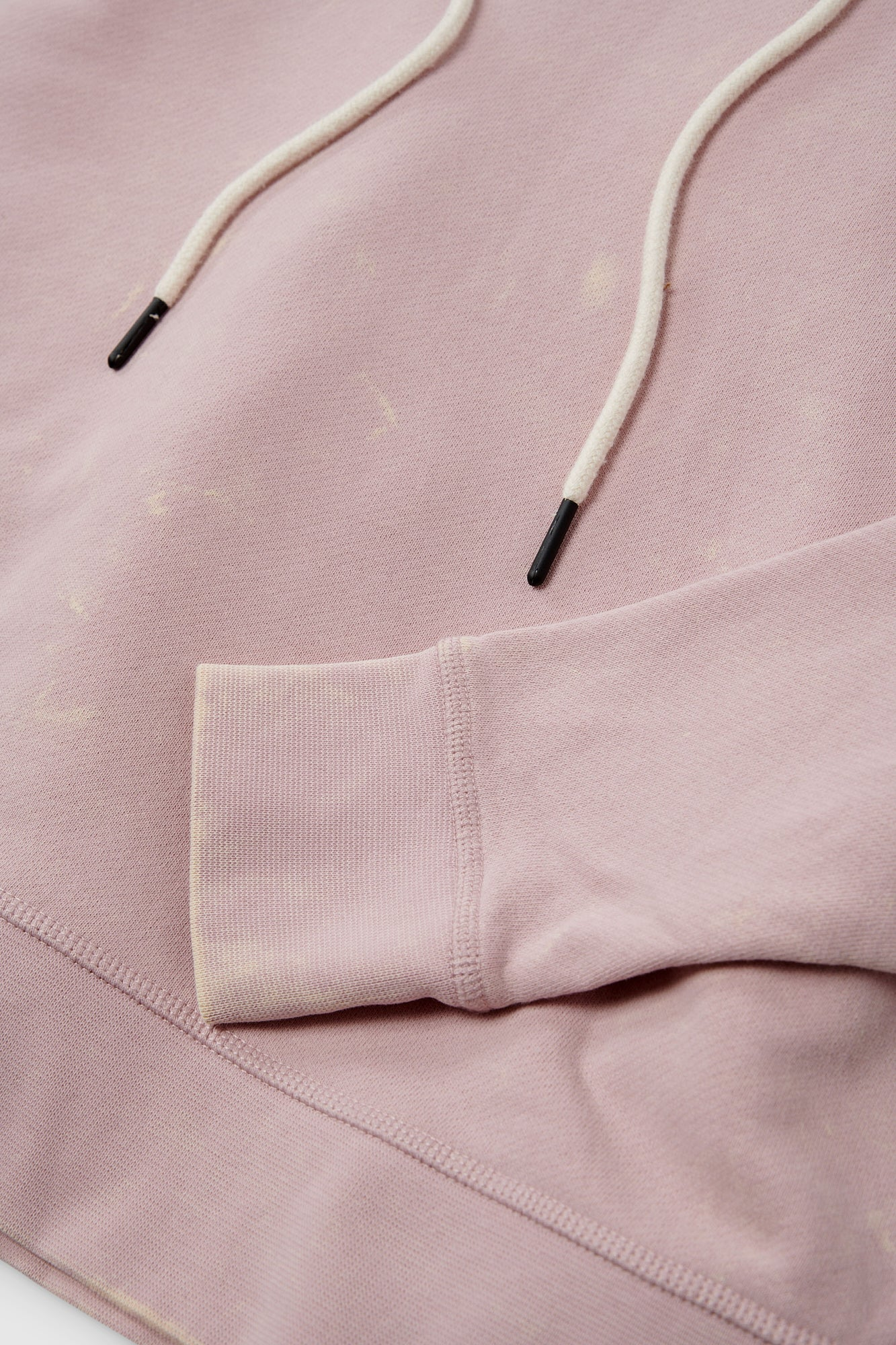 Drop Shoulder Hoodie - Washed Violet Multi