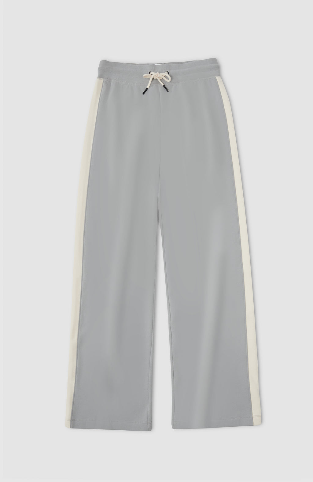 Colorblock Wide Leg Pants - Limestone