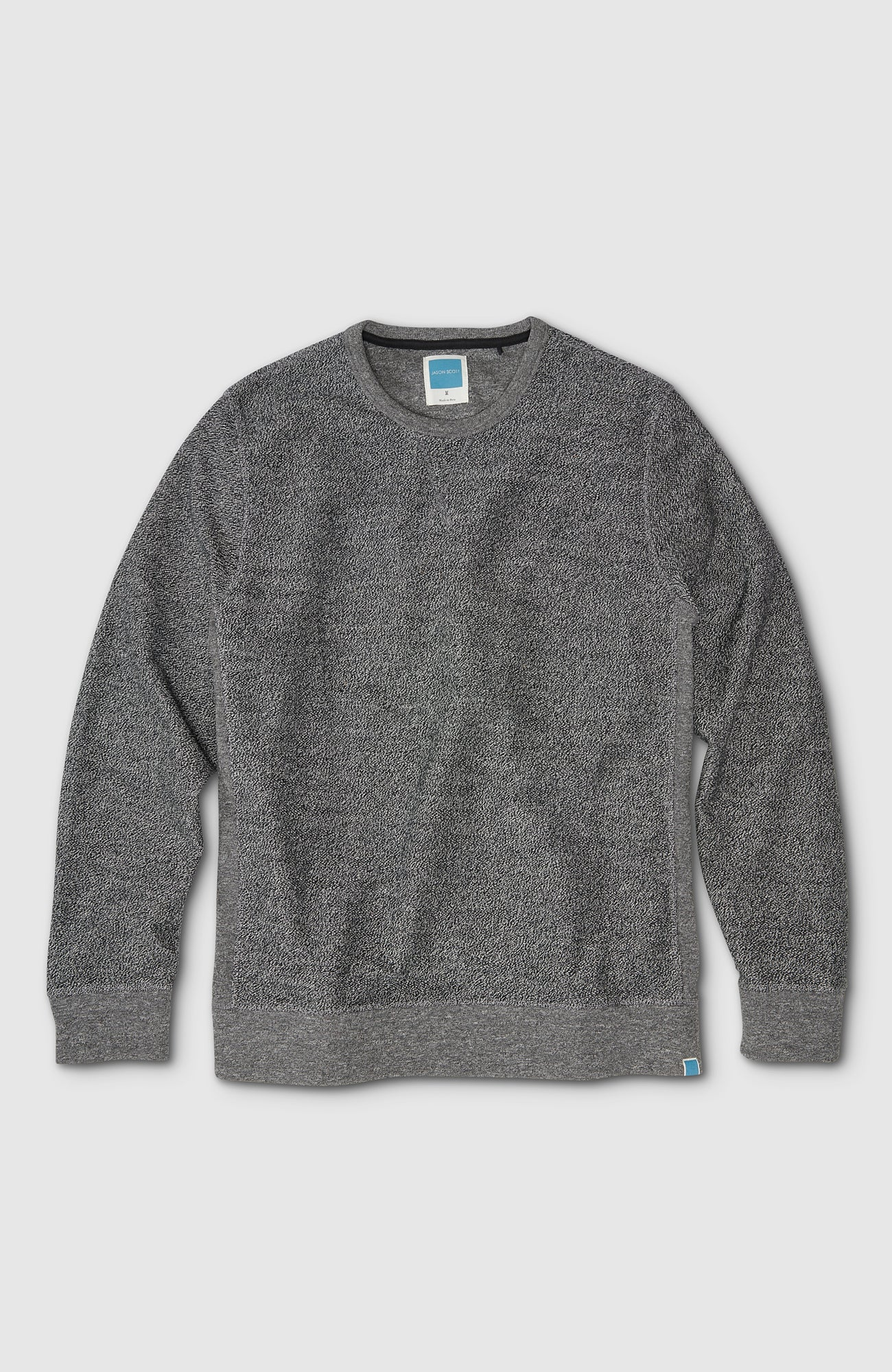 Reversed Crew - Heather Grey