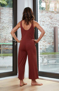 Asa Jumpsuit - Red Sand