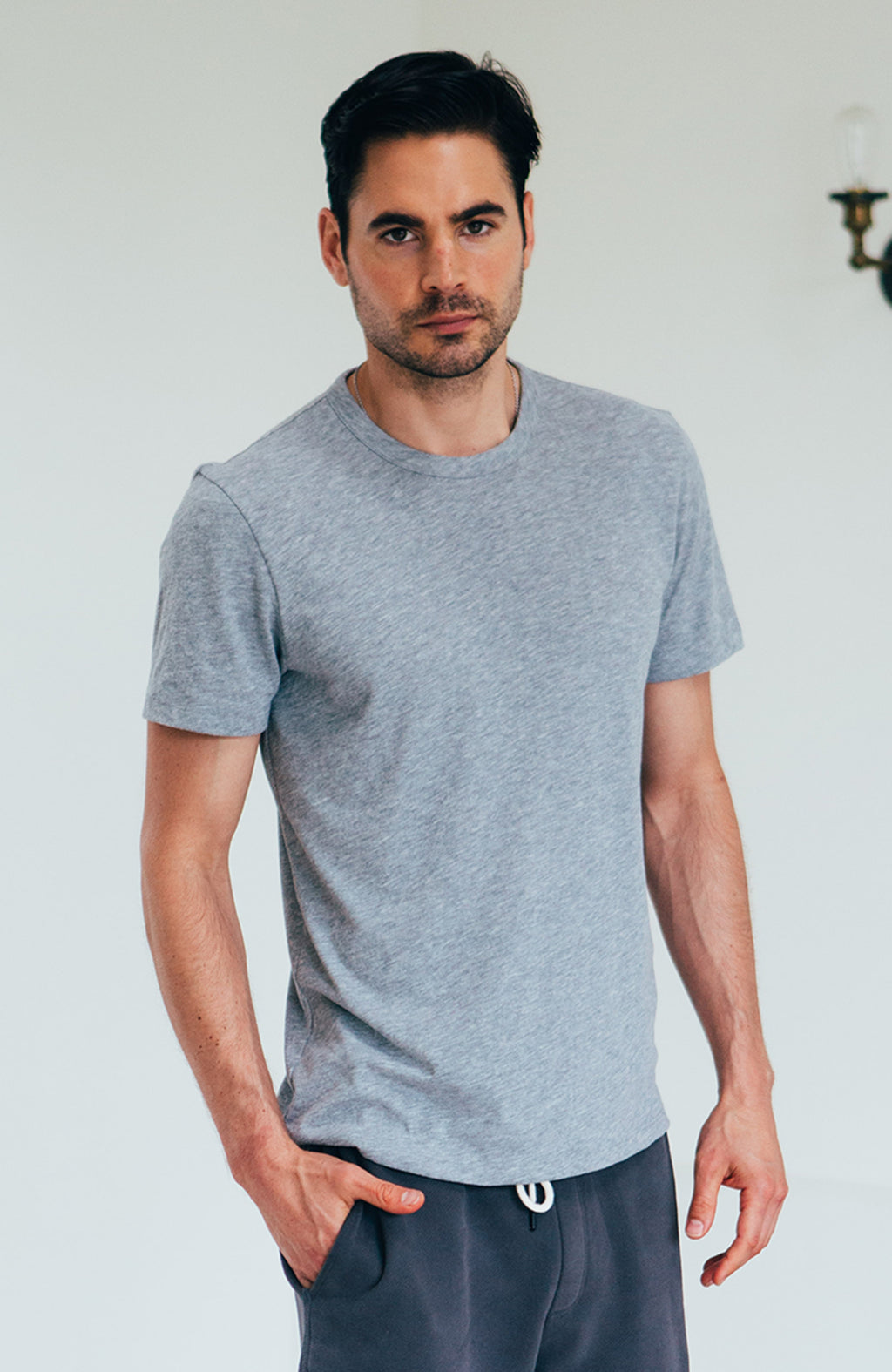 Thomas Crew - Heather Grey