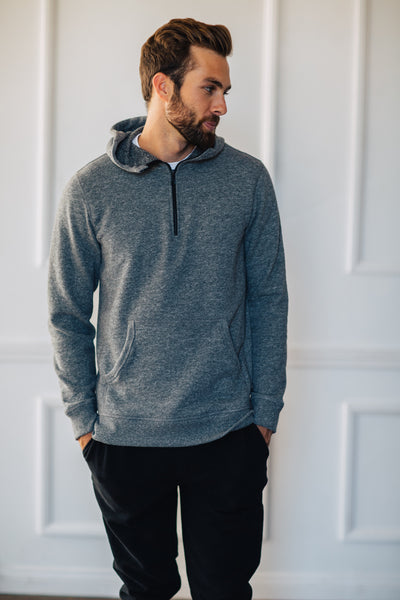 Hudson Pullover - Heather Grey