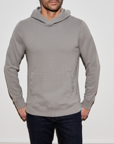 Dunston Pullover - Heather Grey