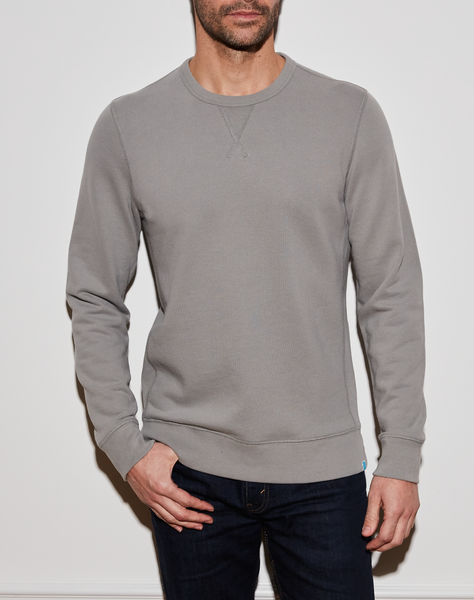 Maddux Crew - Heather Grey