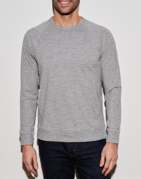 Banks Raglan - Heather Grey