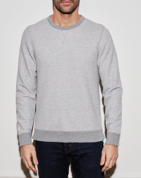 Payton Crew - Heather Grey